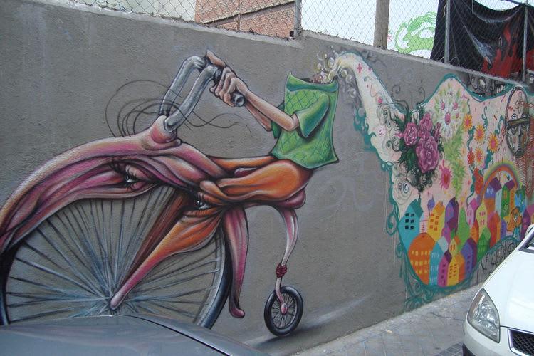 Artwork By Narcélio Grud in Madrid
