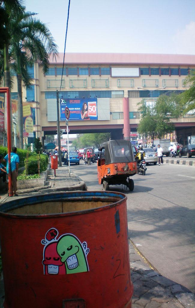 Œuvre Par VLT Crew à Djakarta centre, Jakarta