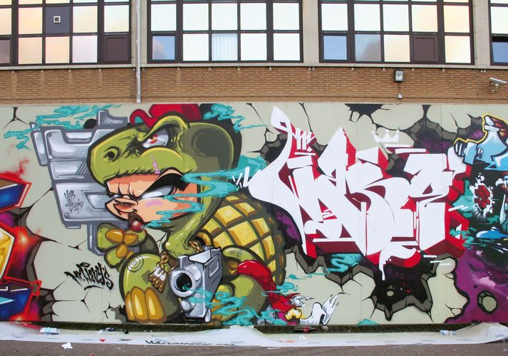 Artwork By Mr Wany in Amsterdam