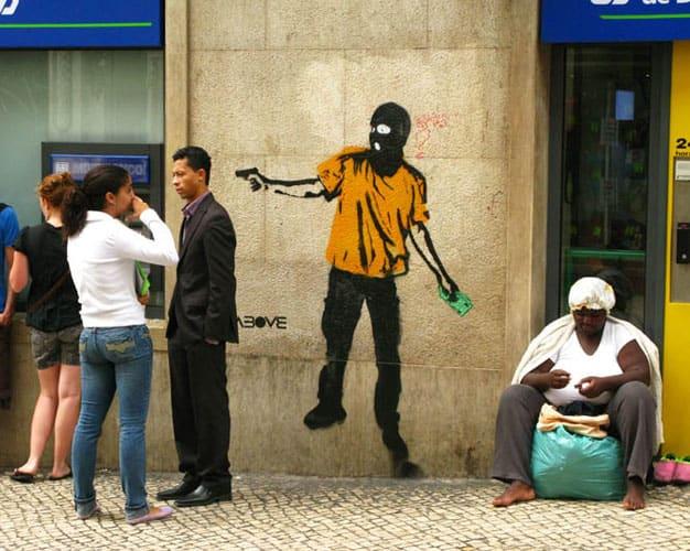 Œuvre  à Lisbonne