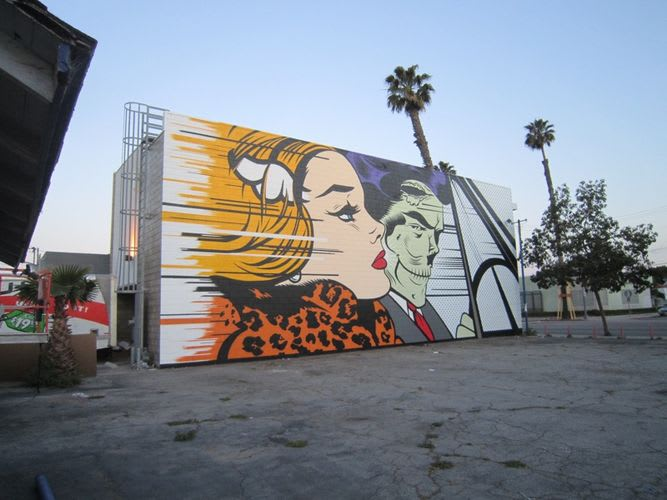 Artwork By D*face in Carson
