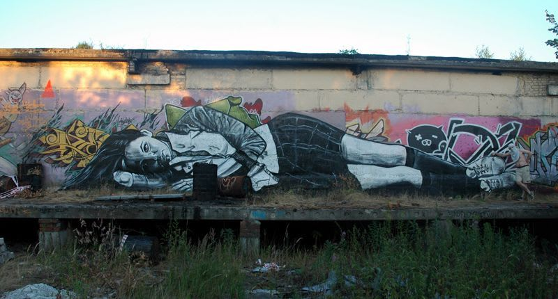 Artwork By P183 in Rybinsk