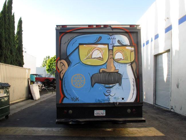 Artwork By Yok and Sheryo in Los Angeles