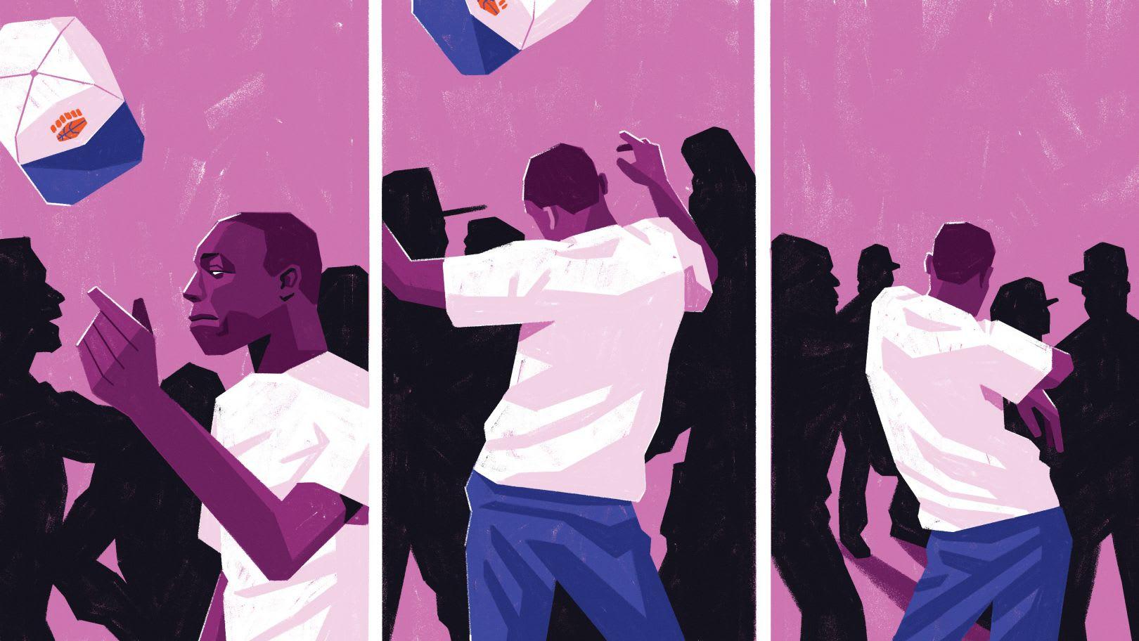 Louder than a riot - Une série d'illustration par Dale edwin Murray