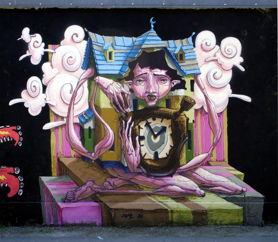 Œuvre Par Dome à Graz
