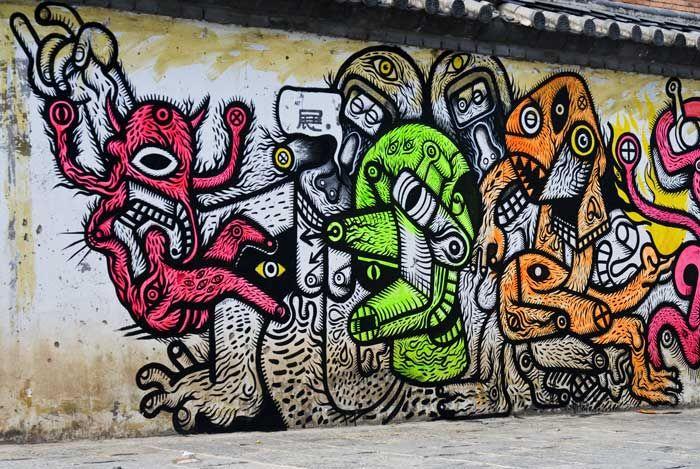 Artwork  in Dali Bai Autonomous Prefecture