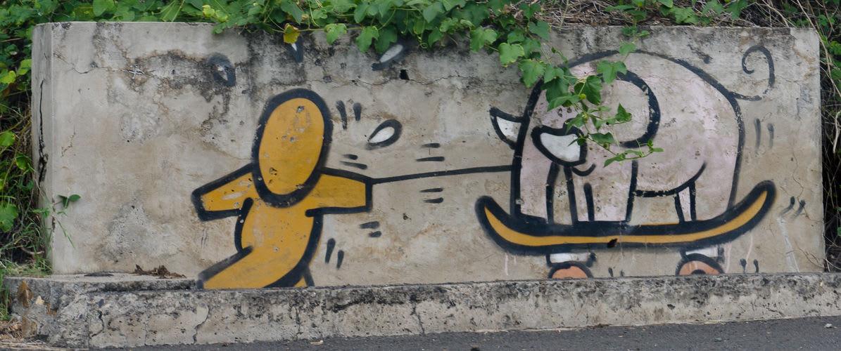 Artwork  in Saint-Leu