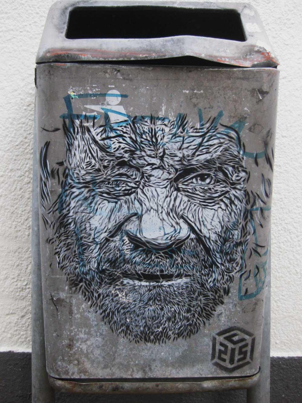Artwork By C215 in Maastricht