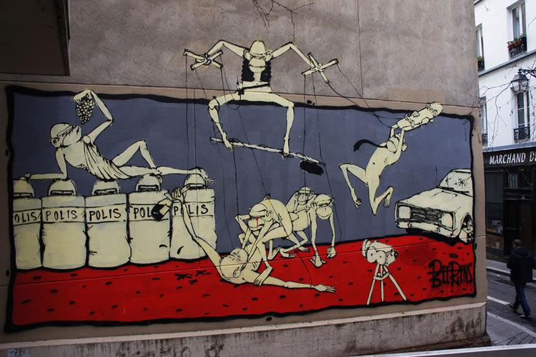Œuvre Par Beerens à Rennes