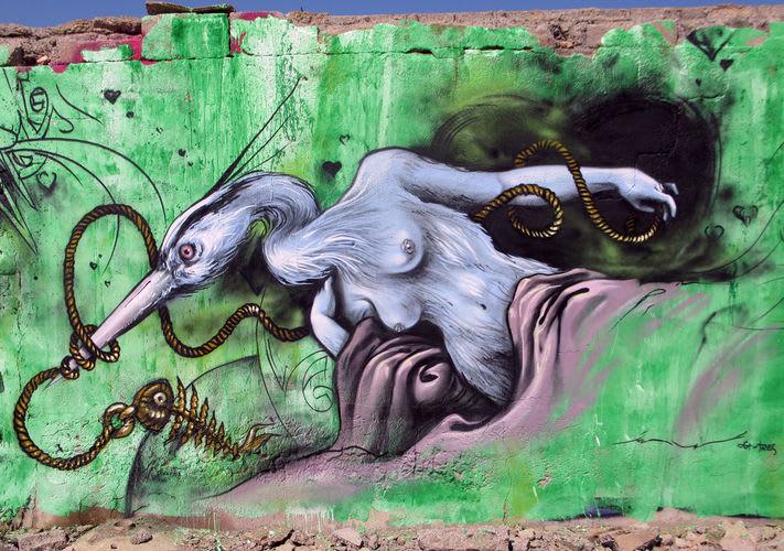 Artwork By KRASER in Cartagena, Murcia