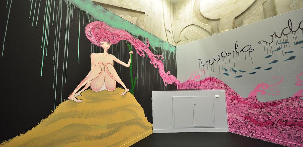 Artwork By Vera Bugatti in Zaragoza