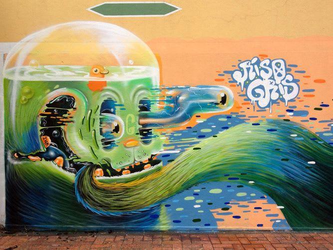 Œuvre Par Grisone à Bogota