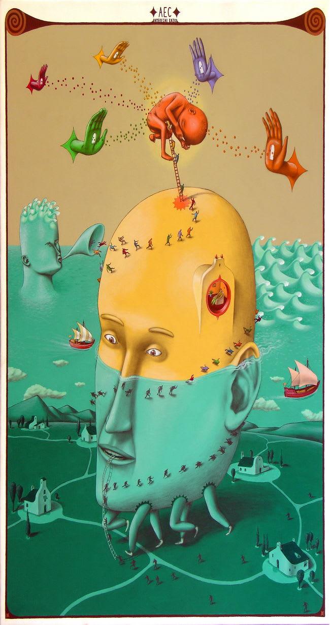 Artwork By AEC in Kiev