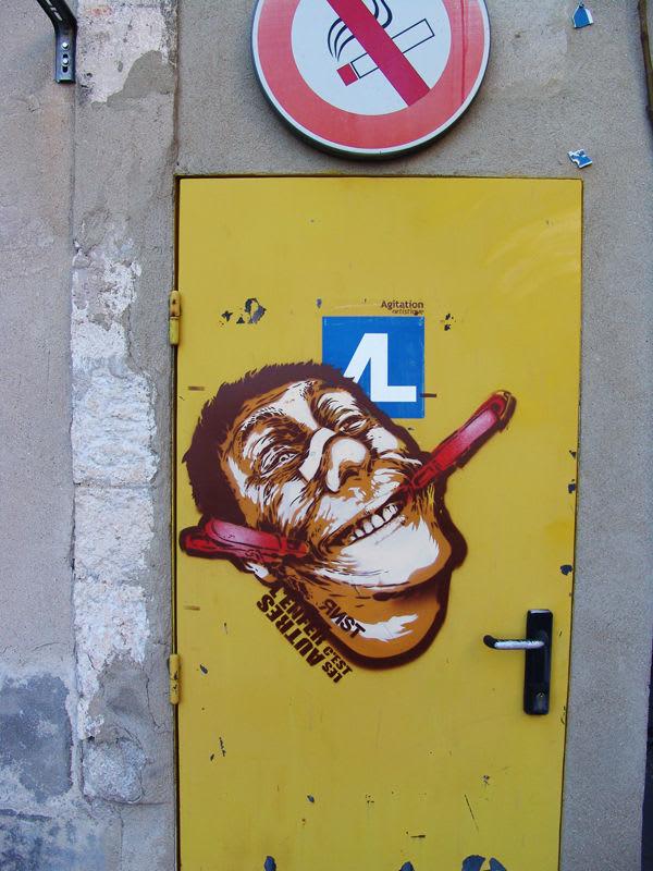 Artwork By RNST in Avignon