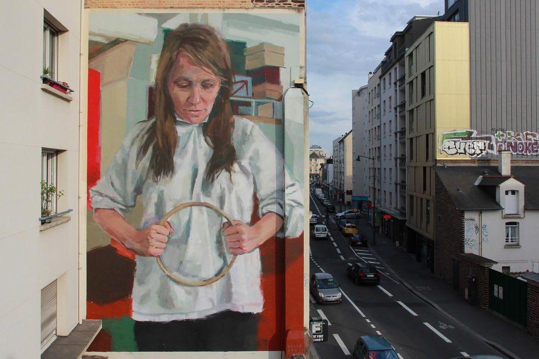 Œuvre Par Helen Bur à Rennes