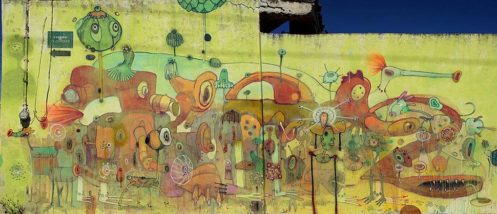 Œuvre Par Dhear à Mexico