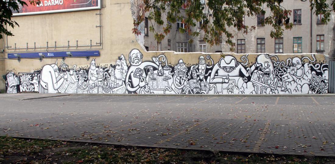 Artwork By Krik Kong in Łódź
