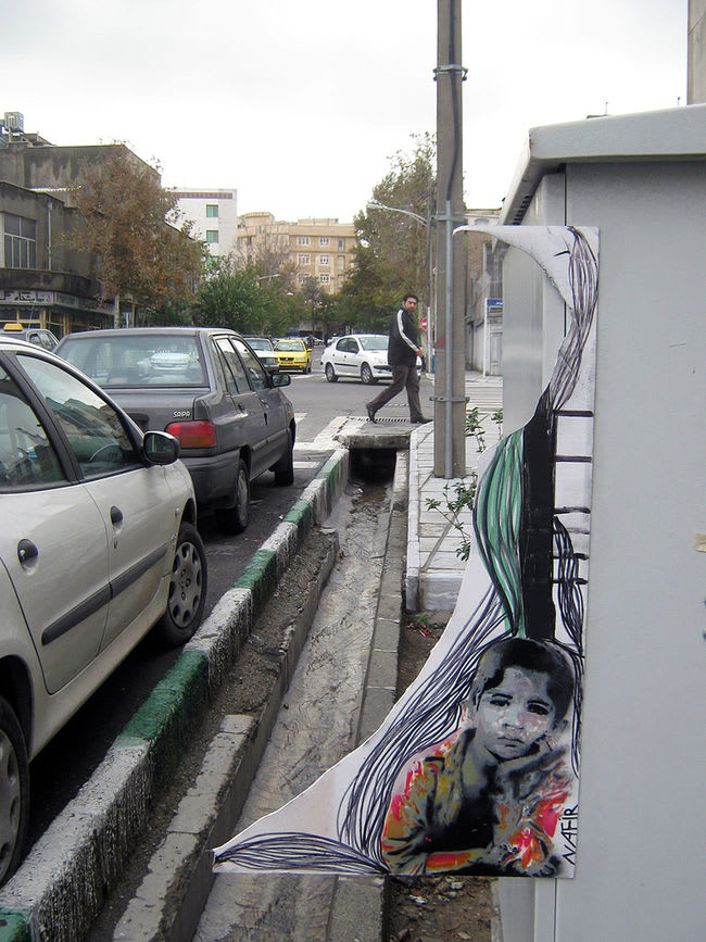 Artwork By NAFIR in Tehran