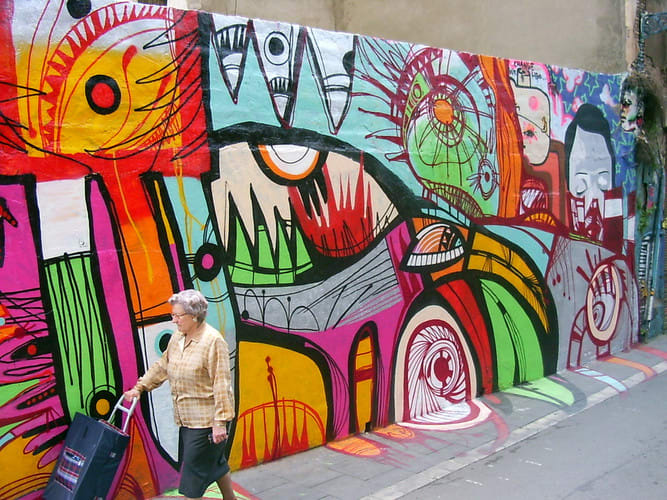 Œuvre  à Barcelone
