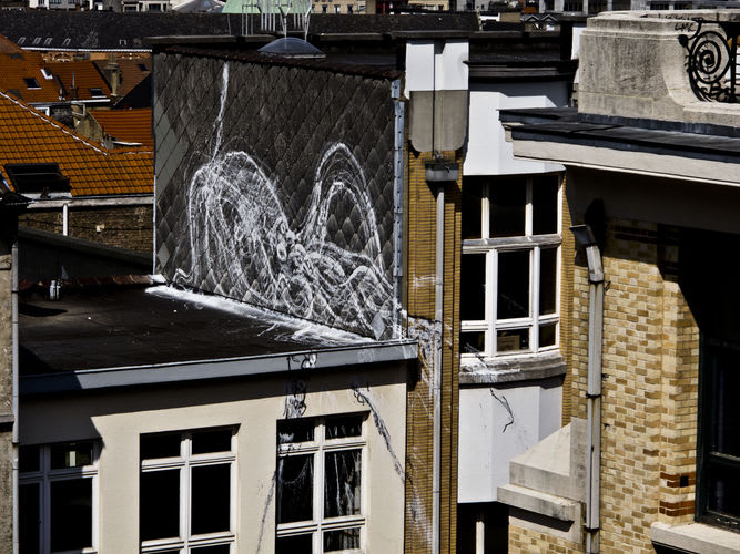 Artwork By bonom in Brussels
