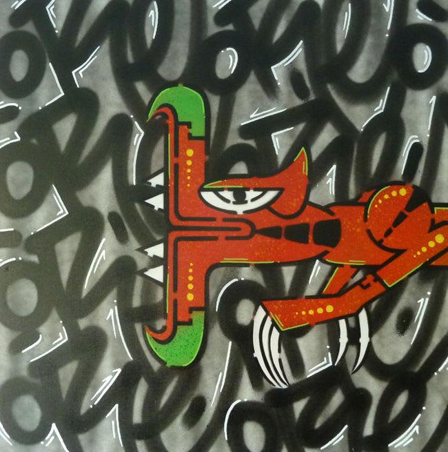 Artwork By oré in Paris