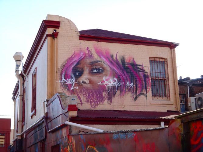 Œuvre Par Adnate à Sydney