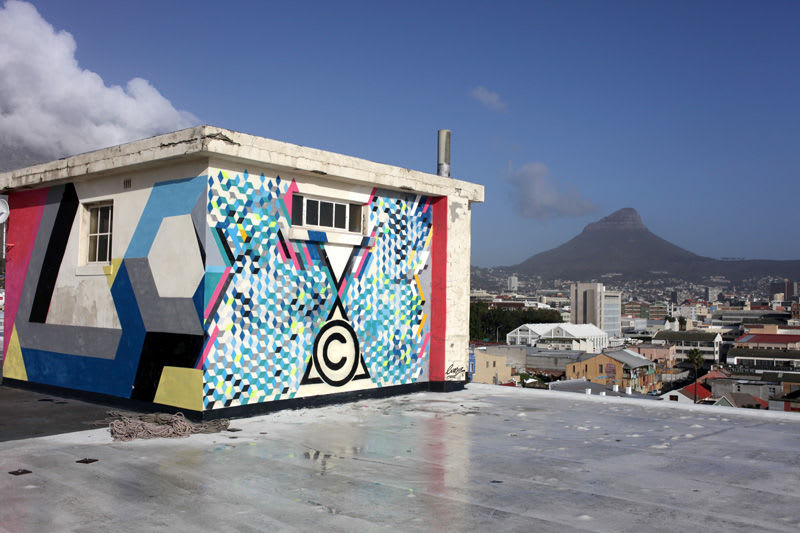 Artwork By Lx.One in Cape Town