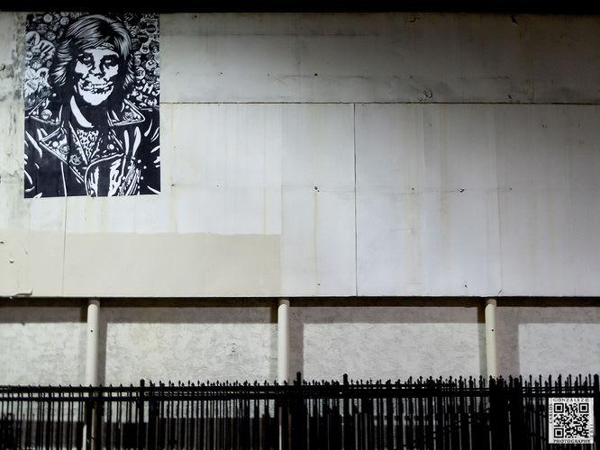 Artwork By Shepard Fairey in Los Angeles