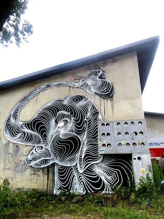 Artwork By AwerOne in Milan