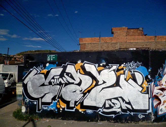 Œuvre Par Cazdos à Bogota