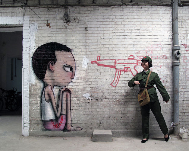 Artwork By Julien Seth Mailland in Beijing