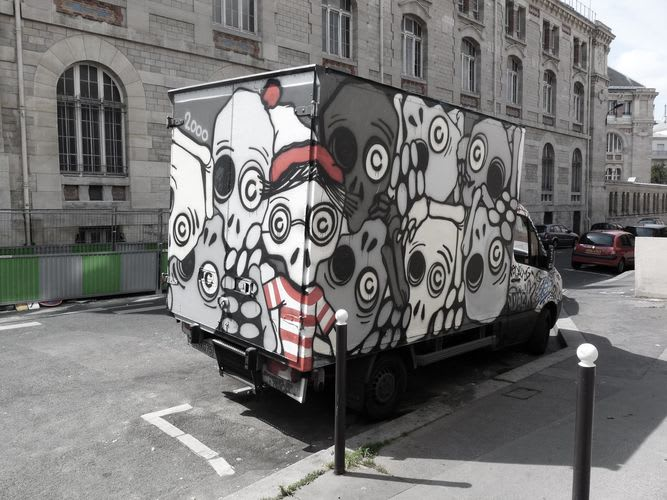 Artwork By Mygalo 2000 in Paris