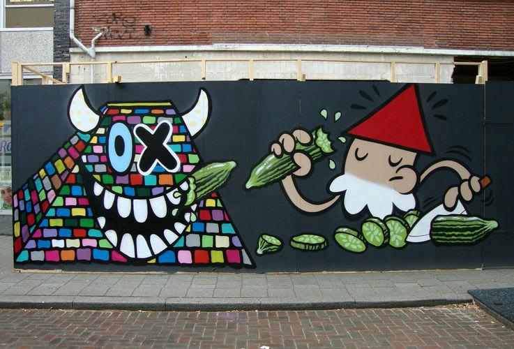 Artwork By Ox-Alien in Rotterdam