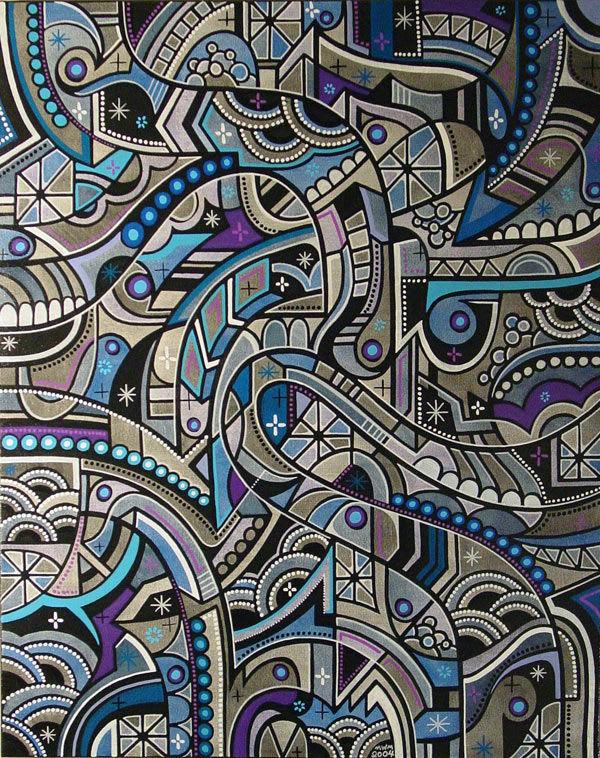 """Artwork By Matt W. Moore """"MWM"""" in Portland"""
