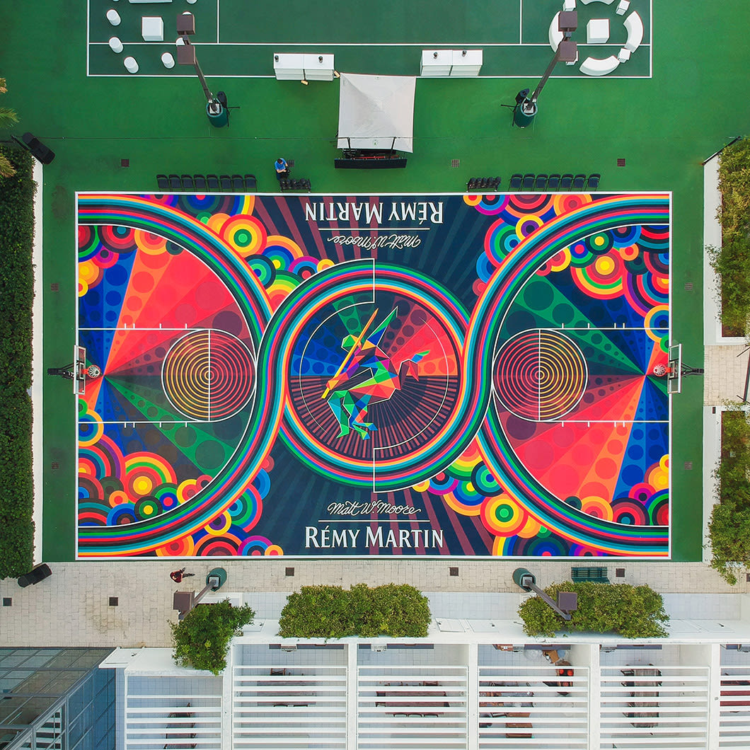 "Artwork By Matt W. Moore ""MWM"" in Miami"