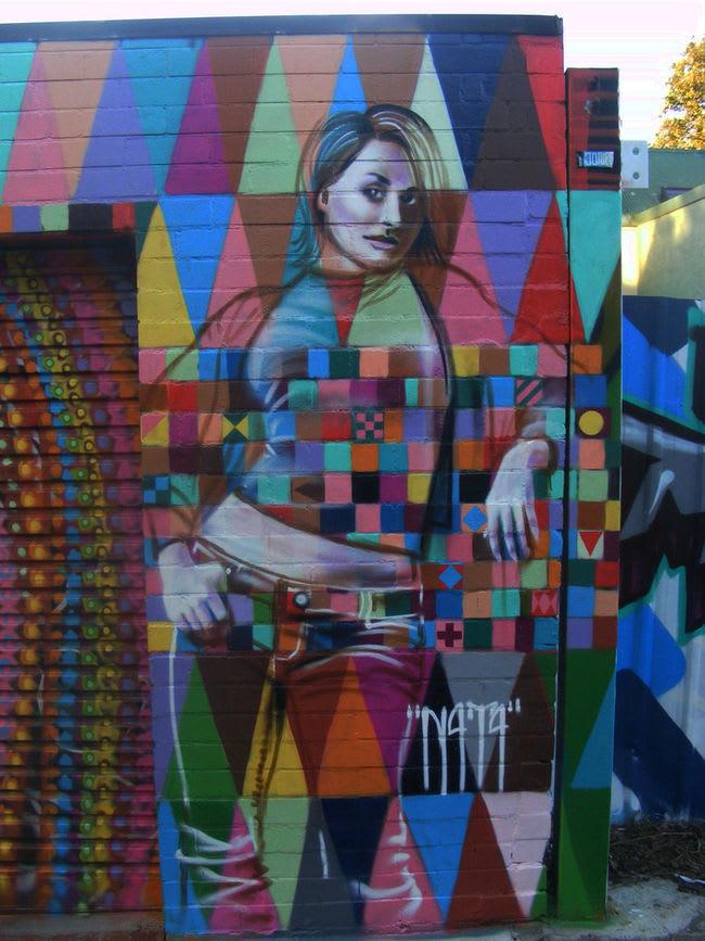 Œuvre Par N4T4 à Sydney