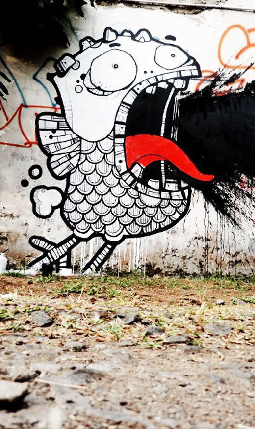 Œuvre  à Bandung