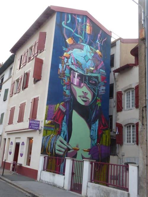 Œuvre Par Deih à Bayonne