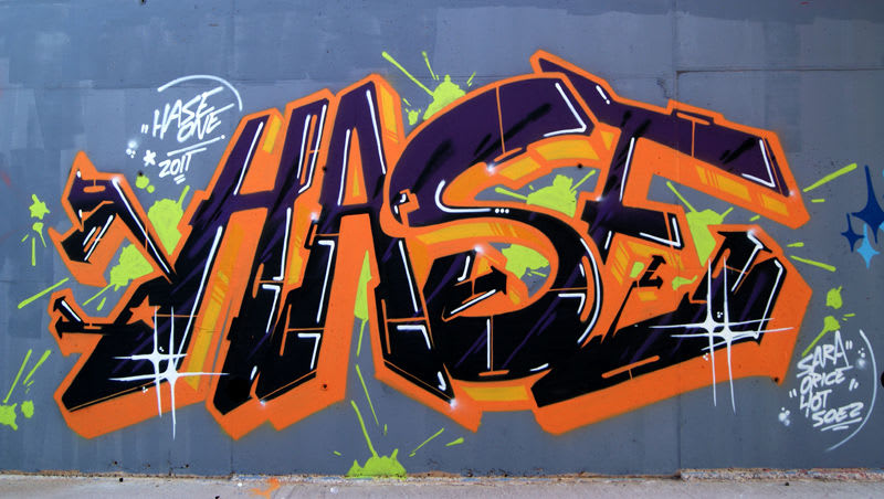 Artwork By hase in Castelló de la Plana