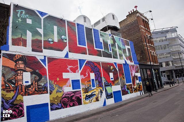 Artwork By Scarce in London