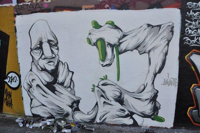 Artwork By Amiante in Lyon
