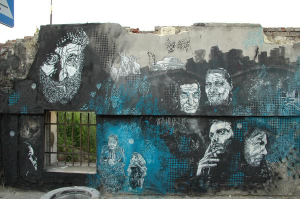 Artwork By C215 in Warsaw