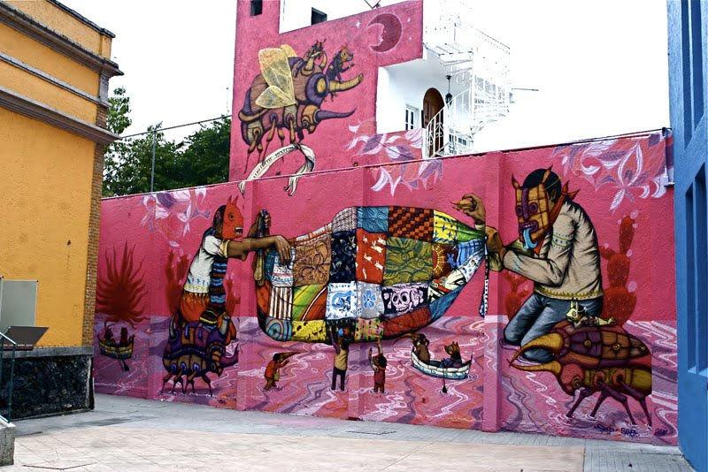 Œuvre  à Mexico