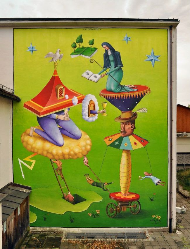 Œuvre Par AEC, Waone à Staudach-Egerndach