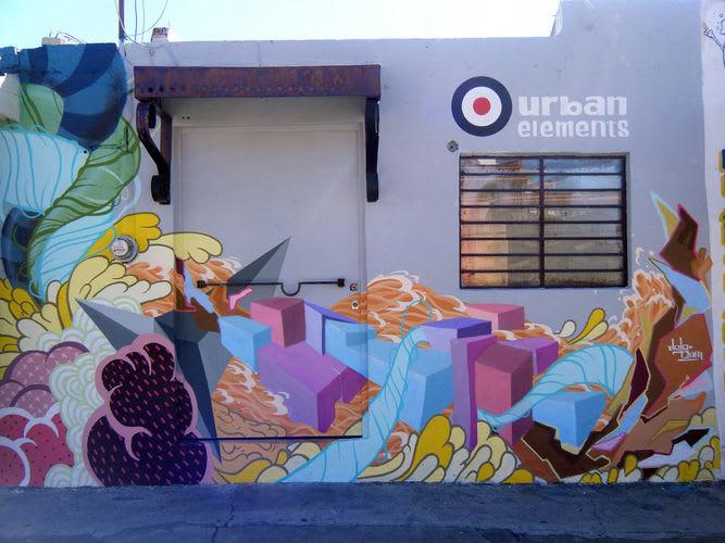 Artwork By El Curiot in Mexico City