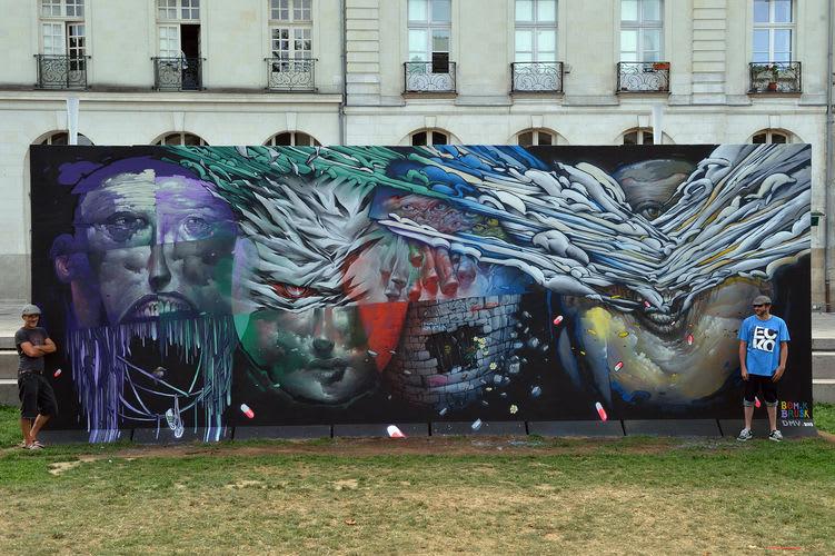 Œuvre  à Nantes