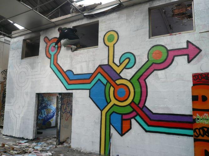 Artwork By Seize Happywallmaker in Palaiseau