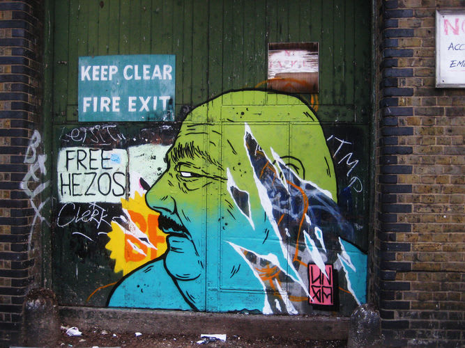 Artwork By Unga in London