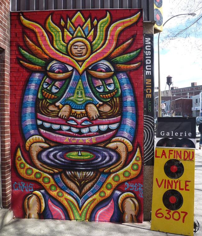 Artwork  in Montreal
