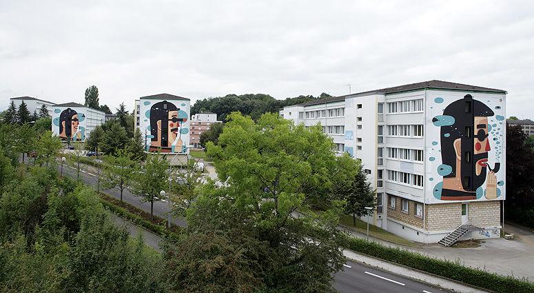 Artwork By Agostino Iacurci in Besançon